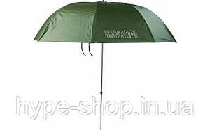 Зонт рибальський Mivardi FG PVC Green висота 2,5 метра
