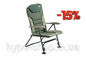 Крісло коропове Mivardi Comfort супер усилиное навантаження 160кг + адаптер D25
