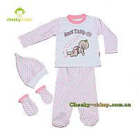 Пижама для девочки Beni в горошек, фото 1