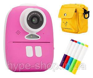 Дитяча камера Redleaf BOB з принтером, рожевий