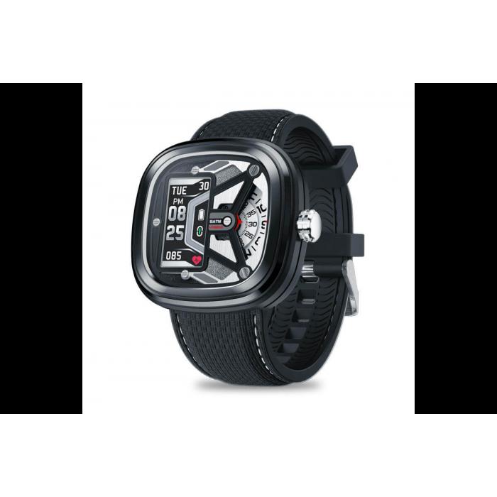 Розумні смарт годинник Smart Watch Max Robotics Hybrid 2 з вимірюванням тиску (Чорний)