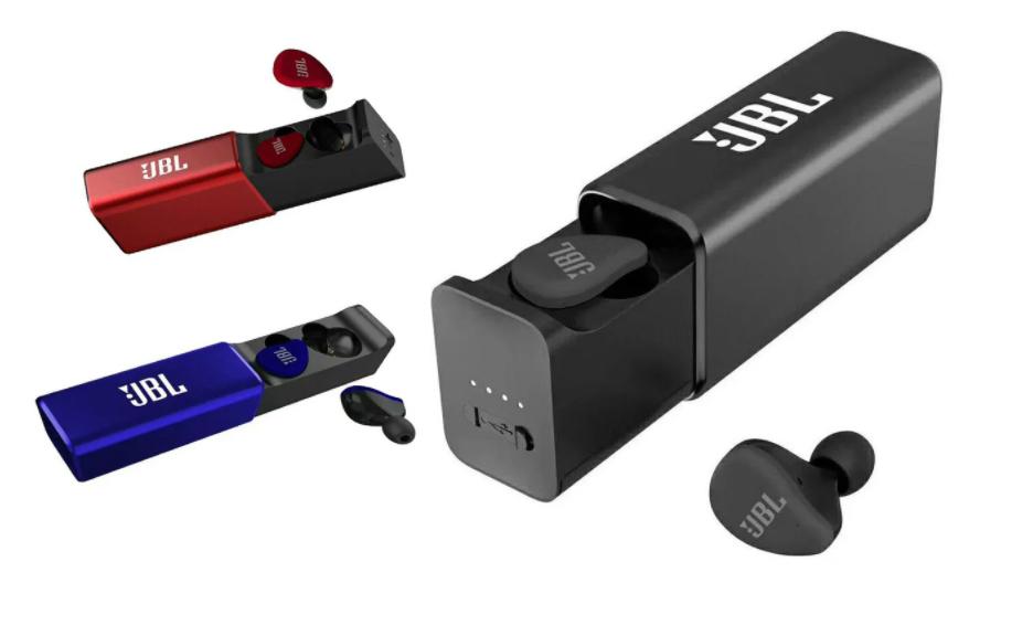 Бездротові вакуумні блютуз навушники з зарядним кейсом JBL Tune 290 (люкс копія)