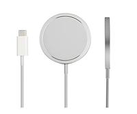 Бездротове зарядний пристрій MagSafe Charger 15W для iPhone/AirPods (Copy), фото 1