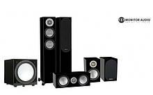 Комплект акустики Monitor Audio Silver Series 200 Black Gloss 5.1