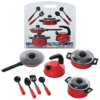 Посудка (11 предметов),ДВА ВИДА, игрушечная кухня, фото 1