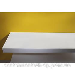 Столешница 90*46*8см каменная Solid surface