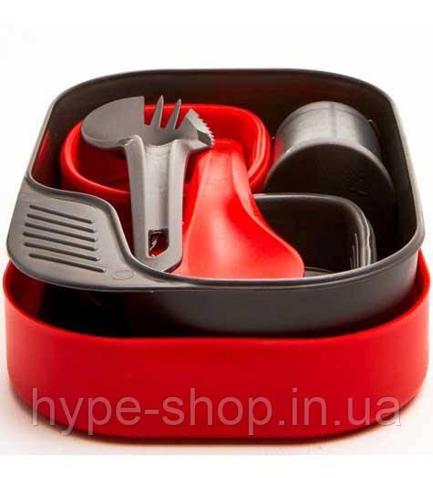 Набор туристической посуды Wildo для 2 человек Camp-A-Box Duo Complete Red 6553