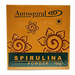 Спирулина из Ауровиля (Spirulina, Aurospirul) 100 грамм