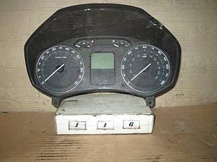 №116 Б/у Панель приладів/спідометр 1Z0920902B для Skoda Octavia A5 2004-2013