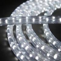 Дюралайт-лента LEMANSO PREMIUM 60SMD силикон белая 3528 220V 280Lm