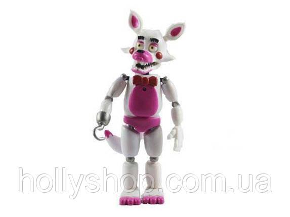 Фігурка кошмарного аніматроніка Мангл з гри П'ять Ночей з Фредді в індивідуальній упаковці ФНаФ 15см, фото 2