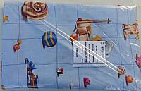 Детское постельное белье бязь Главтекстиль 150х110 Игрушки