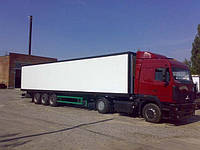 Перевозки по Донецкой области изотермическими фургонами
