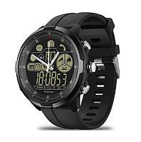 Гибридные смарт-часы Zeblaze VIBE 4 HYBRID Черные (94581)