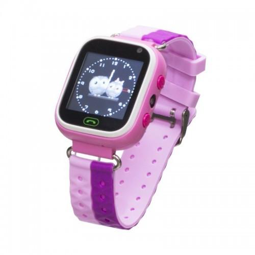 Детские умные часы Smart Baby Watch GM7S, (Розовый)