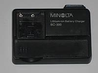 Зарядное minolta    bc-300