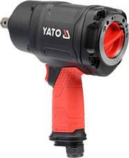 Пневматичний гайковерт ударний YATO YT-09571, фото 3