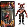 Комплект фігурок Кошмарні Аніматроніки з гри 5 Ночей з Фредді в індивідуальних упаковках ФНаФ 15см, фото 2