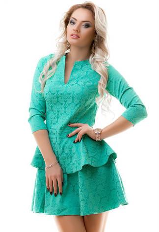Платье Жаккардовое , фото 2