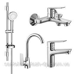 Набор смесителей для ванны и кухни (4 в 1), kit30094