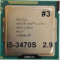Процессор ЛОТ #3 Intel Core i5-3470S N0 SR0TA 2.9GHz up 3.6GHz 6M Cache Socket 1155 Б/У