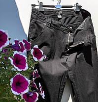 Жіночі прямі брюки Розмір 44 ( Л-157), фото 3