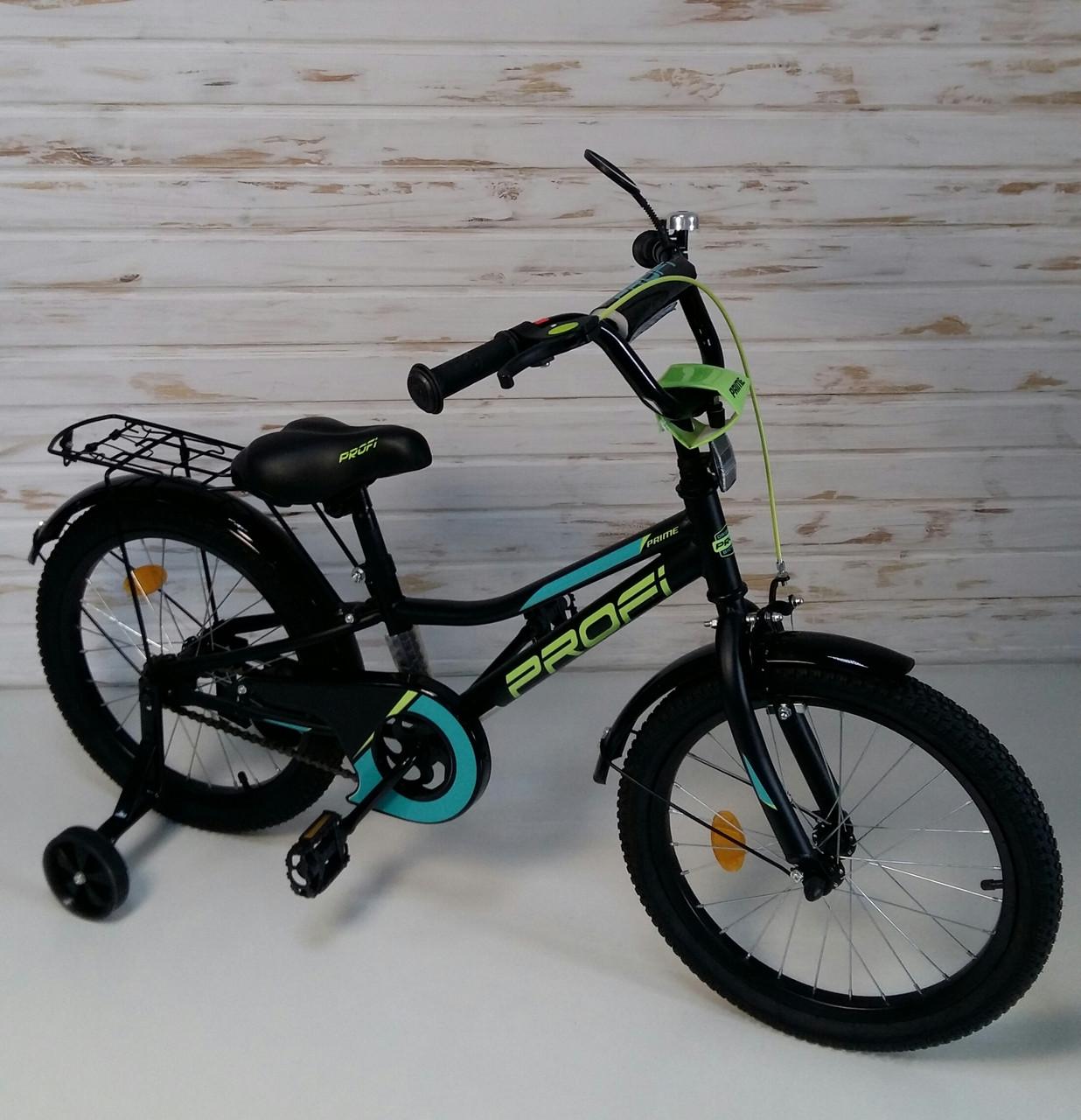 Велосипед двухколесный PROFI Prime 18 дюймов Y18224 Prime черный