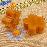 Набор для изготовления чайной свечи Цветочек (прозрачный контейнер чайной свечи, фиксатор фитиля, фитиль), фото 9