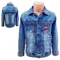 Піджак джинсовий для хлопчика 128-152 (8 - 12л.) Арт.8801                                           , фото 1
