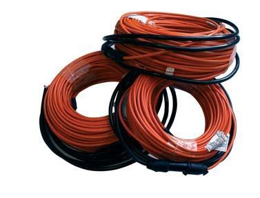 Теплый пол электрический кабель CEILHIT 165,7 м 2850 Вт, двухжильный НЕэкранированный