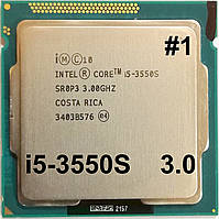 Процессор ЛОТ #1 Intel Core i5-3550S E1 SR0P3 3.0GHz up 3.7GHz 6M Cache Socket 1155 Б/У
