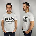 Мужская футболка батал, пр-ва Турция, BLACK, джинс, фото 8