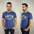 Мужская футболка батал, пр-ва Турция, CAPT'N, белый, фото 3