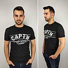 Мужская футболка батал, пр-ва Турция, CAPT'N, белый, фото 4