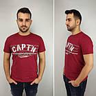 Мужская футболка батал, пр-ва Турция, CAPT'N, белый, фото 5