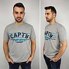 Мужская футболка батал, пр-ва Турция, CAPT'N, белый, фото 6