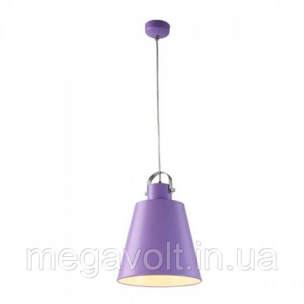 Светильник подвесной  NOVA Е27 белый фиолетовый