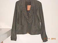 Модерный костюм из шоколадного  твида с короткой юбкой Sinequanone