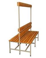 Металлическая скамейка №2