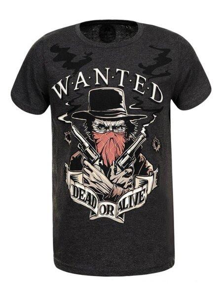 Мужская ковбойская футболка