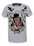 Мужская ковбойская футболка, фото 3