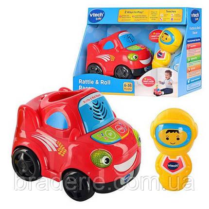 Музыкальная игрушка Машинка 15 см фигурка-погремушка 11 см VTech 143403, фото 2