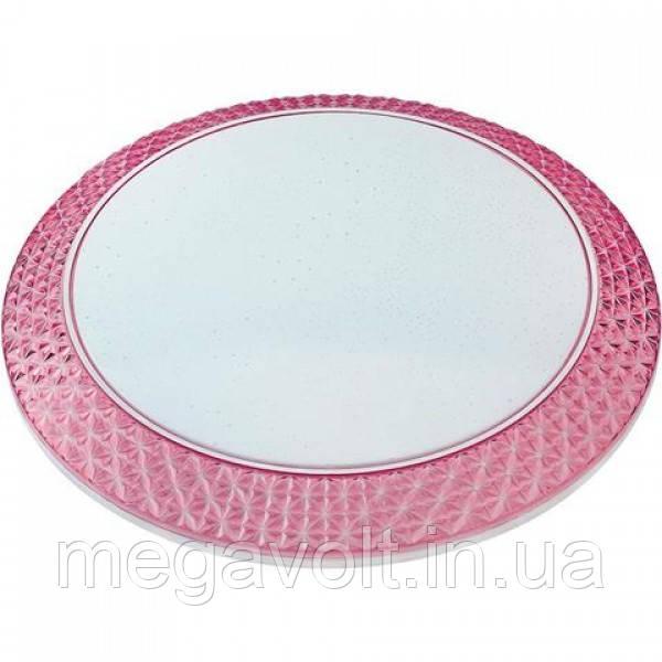 Светодиодный светильник потолочный PHANTOM-36  розовый