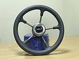 Рулевое колесо Pretech нержавейка 32 см серое, фото 3