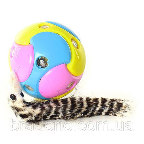 Музыкальный мяч с хвостиком Metr+ YD 0937-1 A