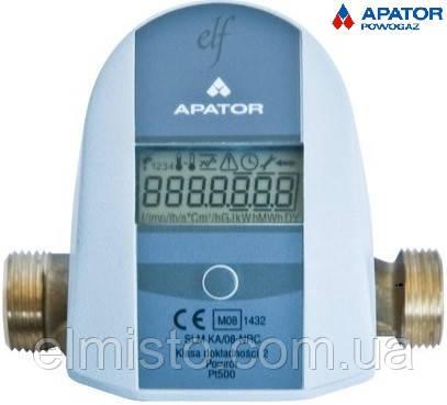 Теплосчетчик  Apator  LQM-III-ELF 0,6 Ду 15 компактный механический  Q=0,6   м3/час  квартирный