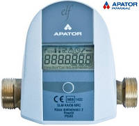 Теплосчетчик  Apator Elf-0,6-15 компактный механический  Q=0,6   м3/час  квартирный