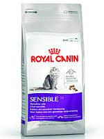 Корм Royal Canin (Роял Канин) SENSIBLE для кошек с чувствительной пищеварительной системой  0.4 кг.