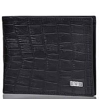 Мужской кожаный кошелёк Wanlima 22522870903 Black