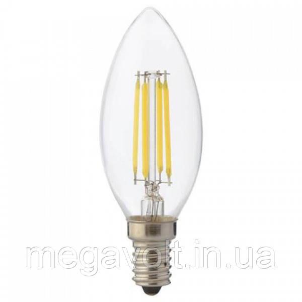 Светодиодная лампа  FILAMENT CANDLE-6 6W 4200K